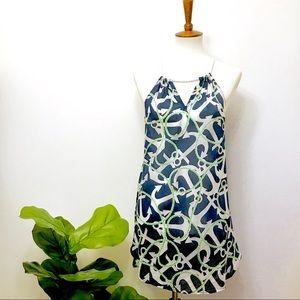 NWOT Mud Pie Nautical Swim Cover Up Dress - Small